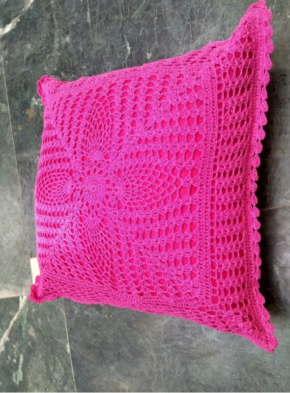 Full Lace Colored Cushion Covers