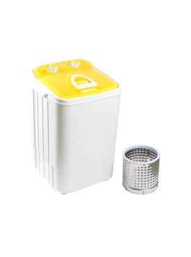 Single Tub Portable Mini Washing Machin with steel dryer basket