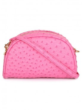 Cappuccino 26006 Pink Sling Bag