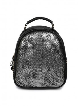 Cappuccino 26007 Black-Silver Backpack