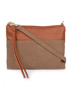 Cappuccino 26010 Brown Sling Bag
