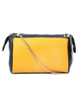 Cappuccino 22091 Mustered, Orange, Red, Teal Slingbag