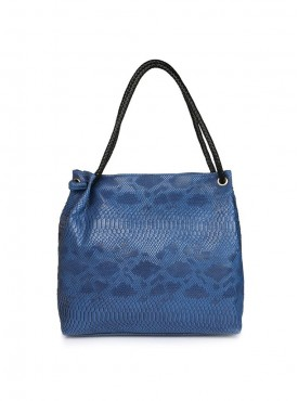 Cappuccino 26001 Blue, Mustered & Toupe Handbag