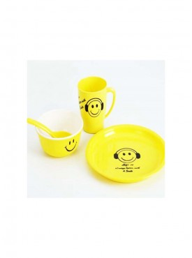 Smiley Plate Set