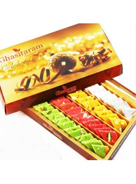 Ghasitaram Assorted Katlis Box