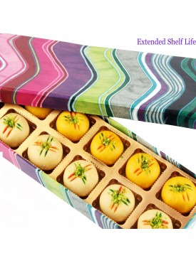 Pink Printed Peda box