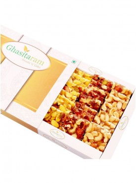 Ghasitaram Assorted Chikki in White Box