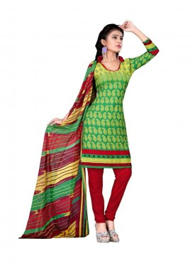 Parrot Green - Yellow Color Suit