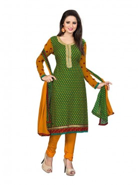 Rama Green - Yellow Color Suit