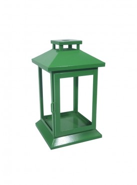 Golmaalshopiron Green Glass Lantren