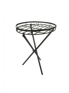 Golmaalshopmild Steel Plant Stand Small Zinc Finish