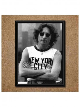John Lenon Wall Poster (With Frame)