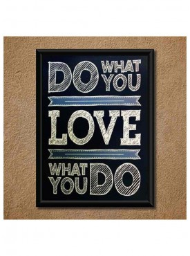Powerful Messages Wall Poster (With Frame)