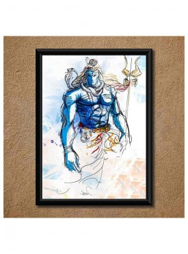 Great Shivaay Wall Poster (With Frame)