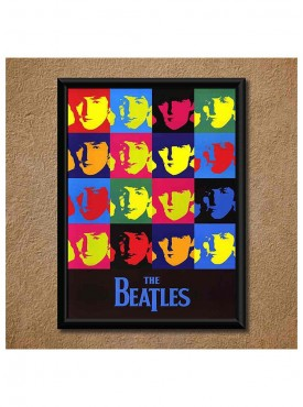 The Beatles Wall Poster (With Frame)
