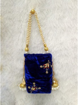 Exclusive designer Blue sling bags