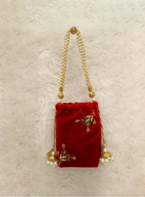 Exclusive designer Red sling bags