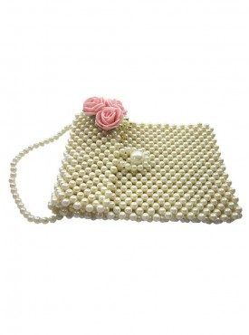 Pearl hand made mobile cover/ pouch for multipurpose usage