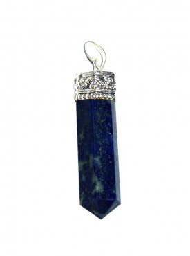 Blue Aventurine Pencil Pendant Kavach
