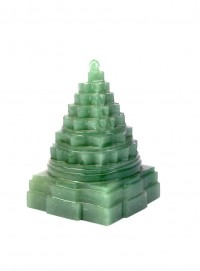ByCue Green Gemstone Shree Yantra