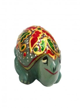 ByCue Green Gemstone Painted Tortoise