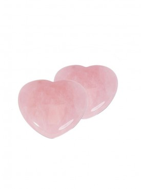 ByCue Rose Quart Heart