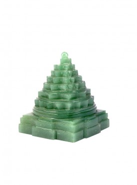 ByCue Green Gemstone Shree Yantra 100 Gram