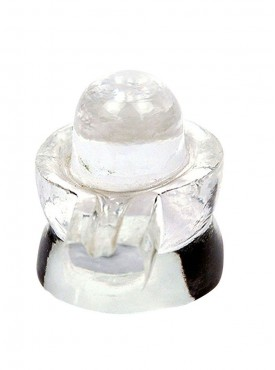 ByCue Crystal Shivling Religious Idols