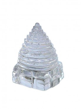 ByCue Pure Crystal Quartaz Shree Yantra - 6 Gms