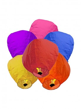 ShopOJ Sky Lanterns Pack Of 10
