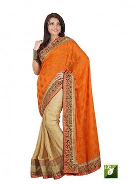 Tulsi Mantra Viscos Silk Jute Saree