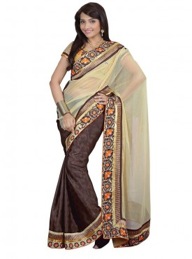 Tulsi Mantra Cindrell Sifon 40 Gm Saree