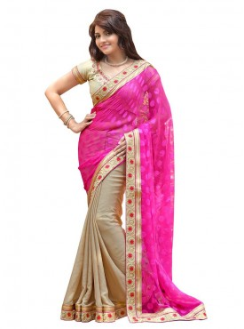 Tulsi Mantra Simmer Net Patten Saree