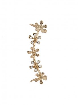 Fayon Daily Casual Work Small Golden Flowers Ear cuff For Single Ear