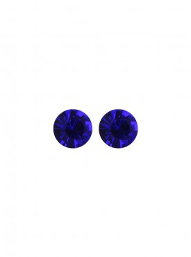 Fayon Daily Casual Work Blue Crystal Stud Earrings