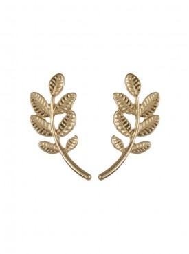 Fayon Weekend Casual Tiny Leaves Earrings