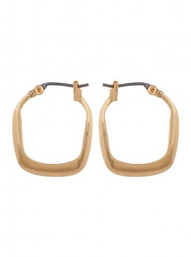 Fayon Chic Stylish Golden Square Stud Earring
