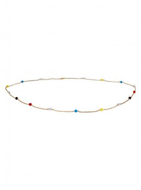 Fayon Weekend Casual Multicolor Beads Body Chain