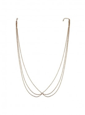 Fayon Weekend Casual Golden Infinity Waist Chain