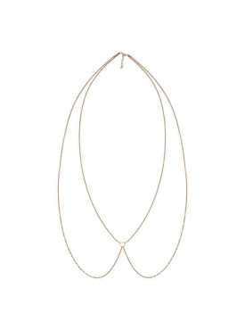 Fayon Chic Stylish Golden Ring Body Chain