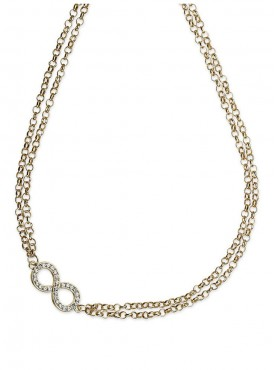Fayon Party Style Diva Silver Infinity Body Chain