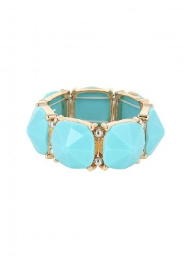 Fayon Funky Fashion Blue Stones Elegant Adjustable Bracelets