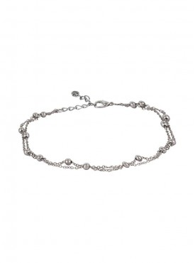 Fayon Weekend Casual Silver Infinity Anklet