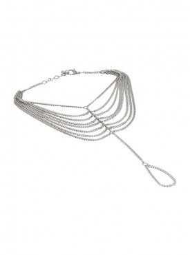 Fayon Trendy Costume Silver Multilayer Chains Foot Chain