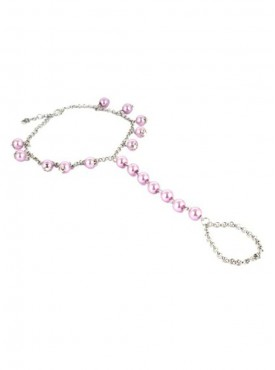 Fayon Chic Stylish Light Purple Beads Foot Chain (Single Piece)