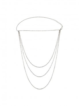 Fayon Daily Casual Work Silver Chains Shoulder Chain