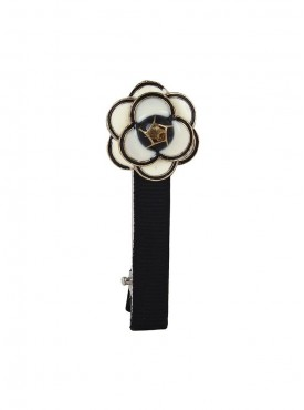 Fayon Trendy Costume White Flower Hair Pin
