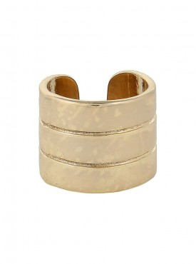 Fayon Party Style Diva Golden Cuff Style Ring