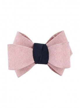 Fayon Daily Casual Work Pink Bow Rubber Band