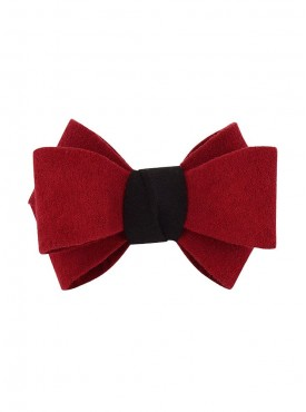 Fayon Funky Fashion Red Bow Rubber Band
